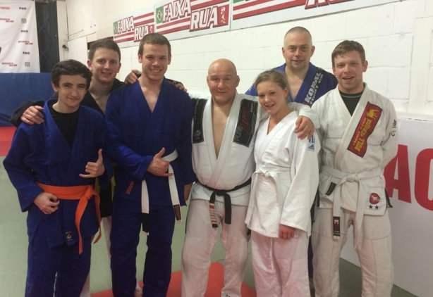 CMA members at a Carlson Gracie Jr Seminar